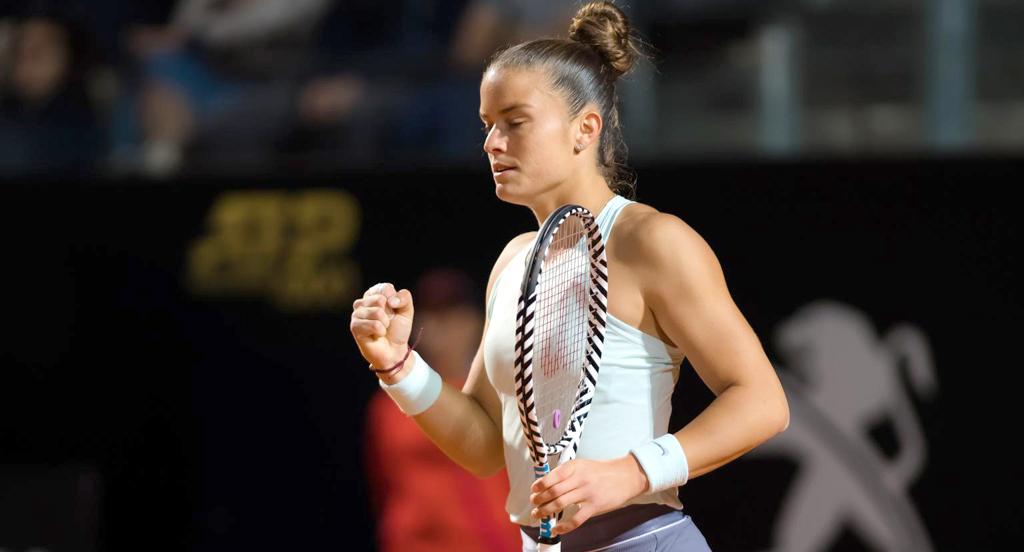 b293e15e8d4 Στα ημιτελικά της Ρώμης η ΟΝΕΙΡΙΚΗ Σάκκαρη! - VIDEO | Tennis24